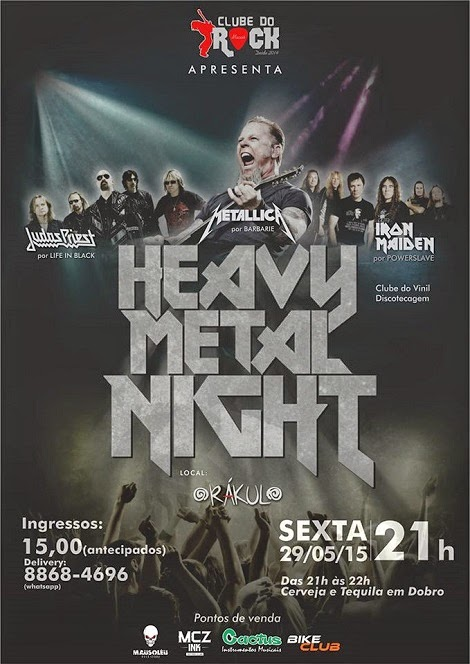 29-05-2015 - HEAVY METAL NIGHT - Maceió - AL