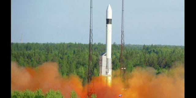 A Rokot carrier rocket © Photo Khrunichev State Research and Production Space Center