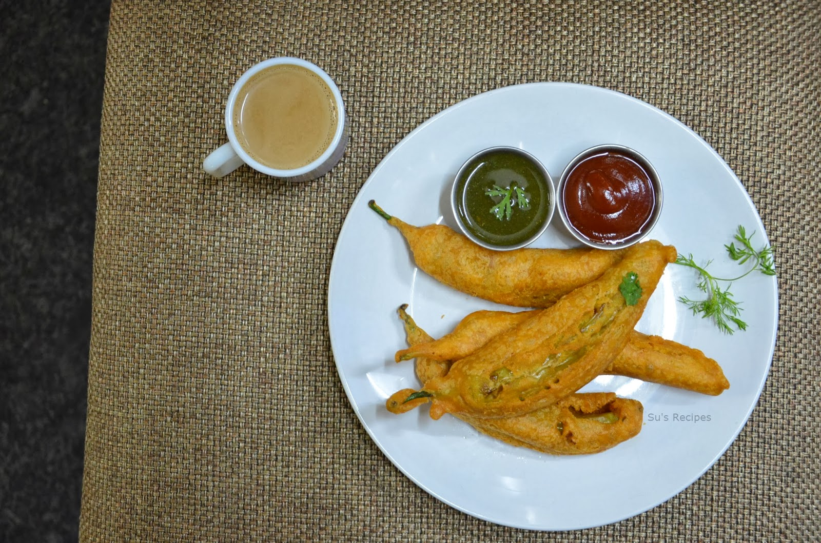 indian tea time snack