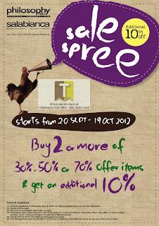 Graffi Tee Malaysia, Philosophy-Men & Salabianca Spree Sale 2012