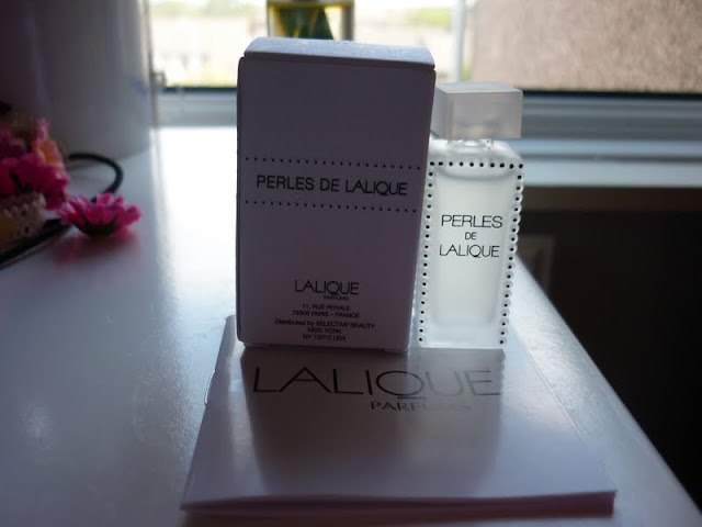 Perles de Lilique sample in GlossyBox