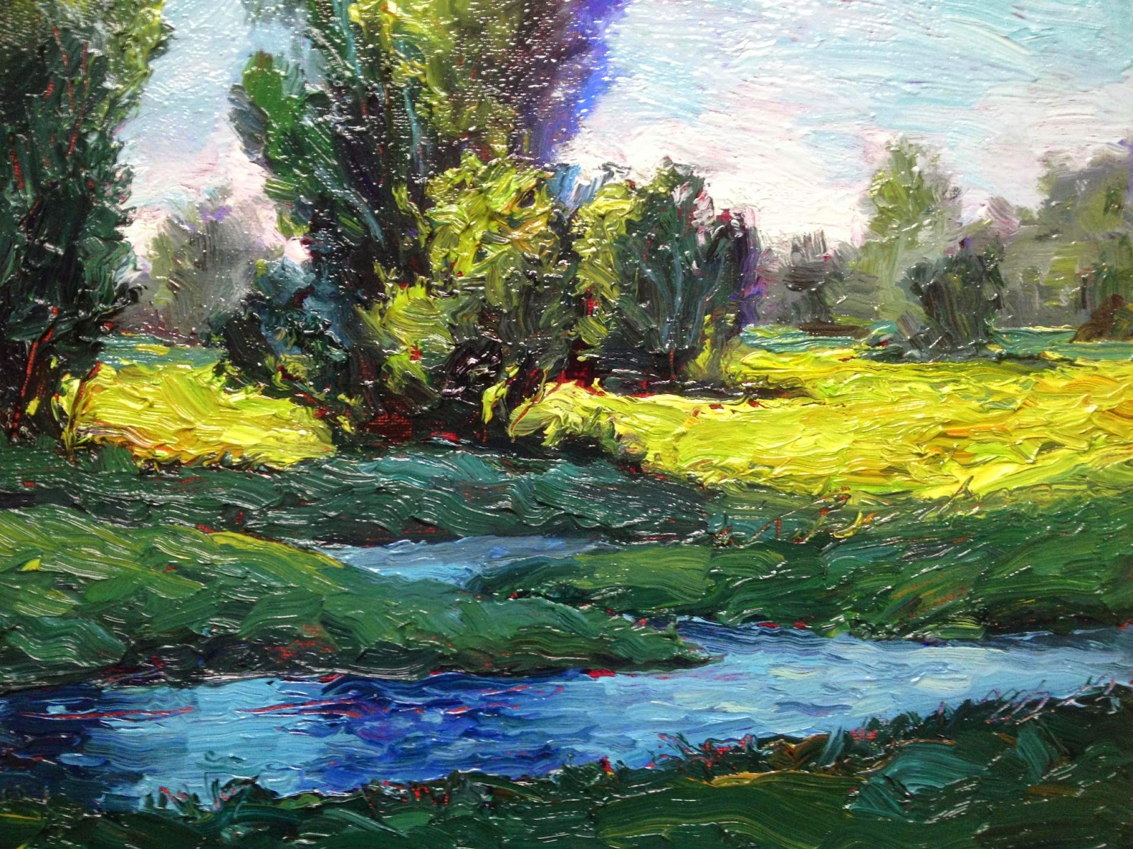 BRAD TEARE 127 Painting A Small Landscape
