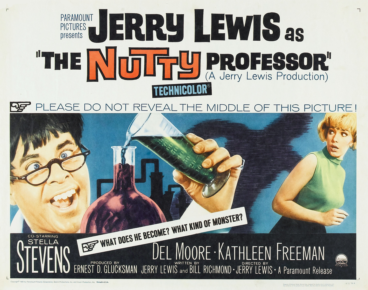 Jerry Lewis presents... The Nutty Professor (1963)