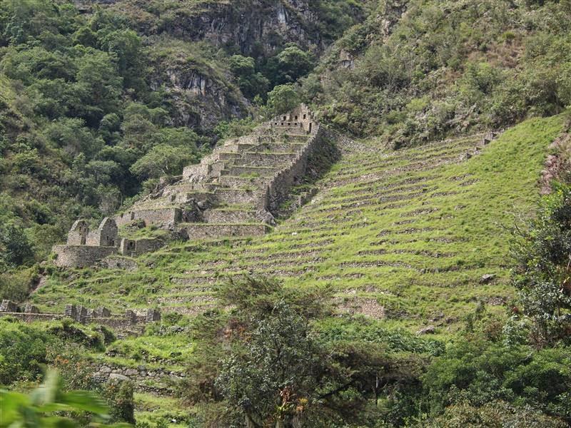 Ruinas en el Camino Inca
