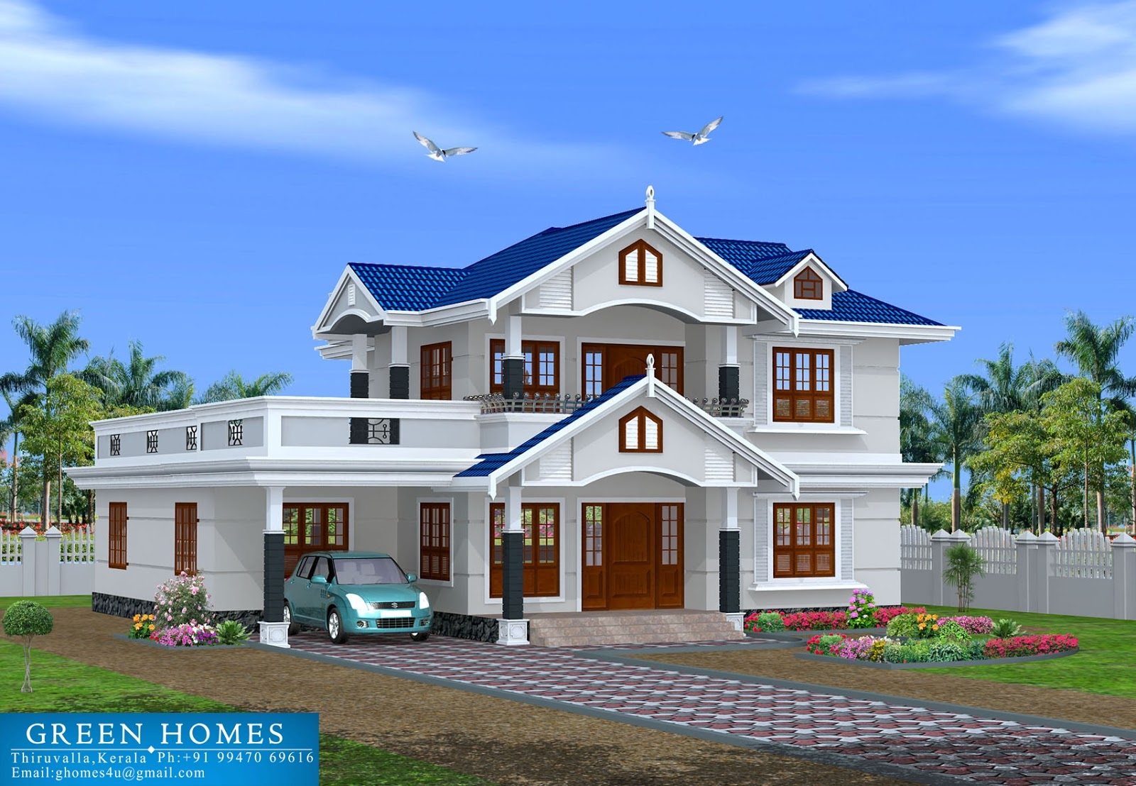 Green homes november 2012 for Kerala homes plan