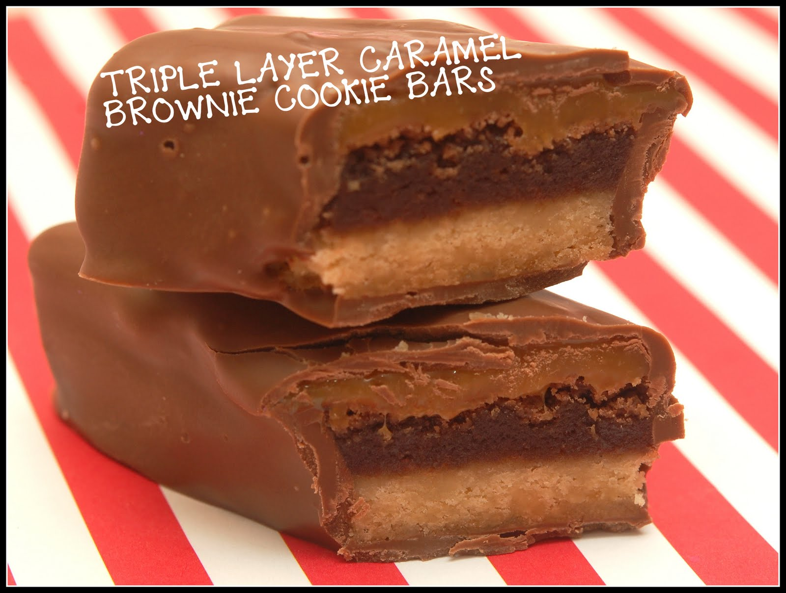 Six-Layer Brownie Bars Recipe — Dishmaps