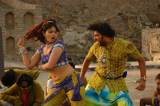 Maharaha Tamil Movie spicy item song with Anjali Spicy movie stills