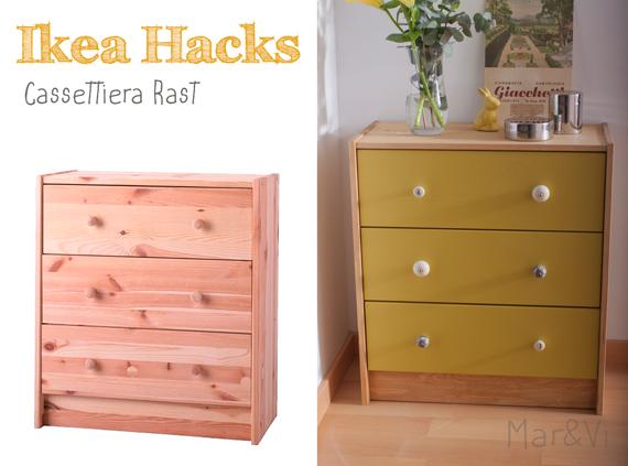 Ikea Hack, cassettiera Rast