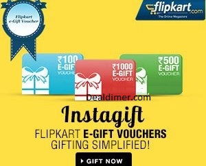 FlipKart Gift Card 7.5% off on Purchase of Rs. 4999