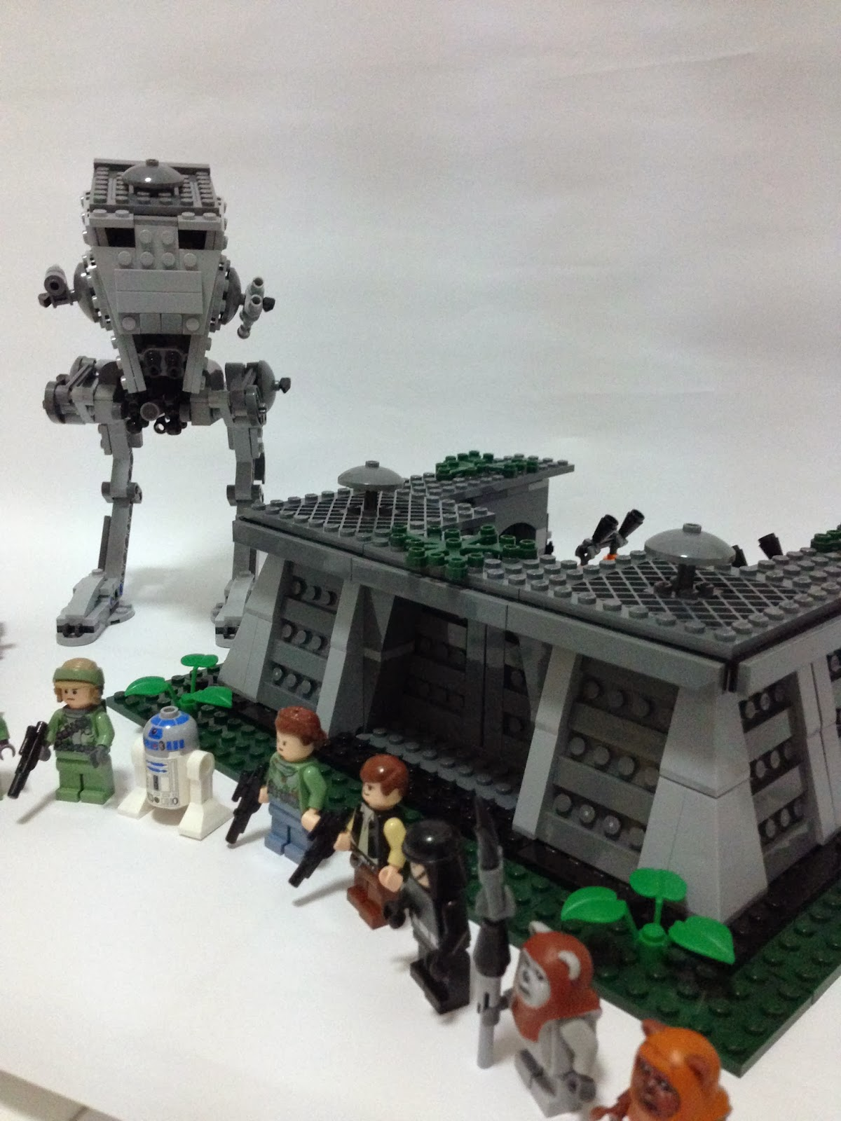 The Marriage Of Lego And Star Wars Review 8038 The Battle Of Endor