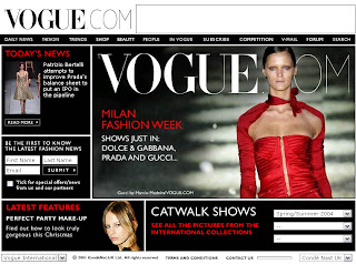 1 Vogue 10 of the Most Popular Fashion Websites