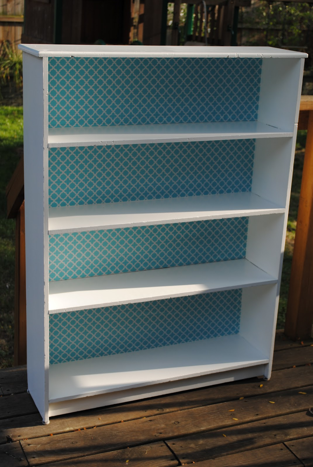 diddle dumpling: Before and After: Bookcase