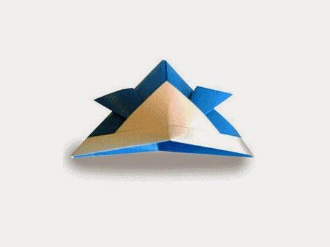 Hướng dẫn cách gấp mũ, nón Samurai bằng giấy đơn giản - Xếp hình Origami với Video clip - How to make a Samurai hat