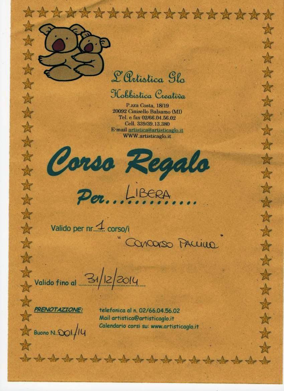 """Concorso natalizio """"Artistica Glo"""" di Cinisello B."""