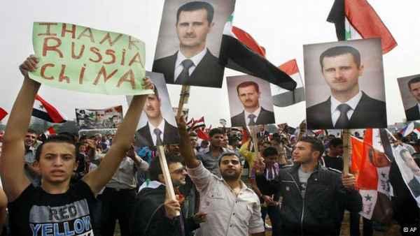 Dukungan China-Rusia kepada Suriah