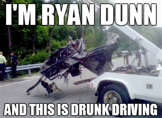 im ryan dunn and this is drunk driving