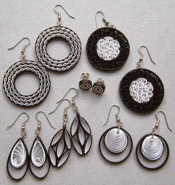 Quilling Papers Earrings: 60 Gorgeous Jewelry With QUILLING Technique!