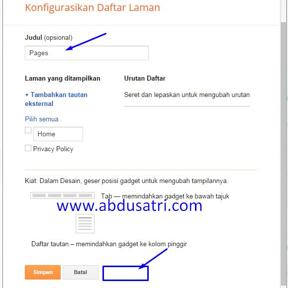 cara mengatasi widget tidak bisa dihapus di blogspot