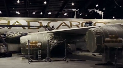 Painting the Etihad Cargo's Boeing 747-8F was a major task
