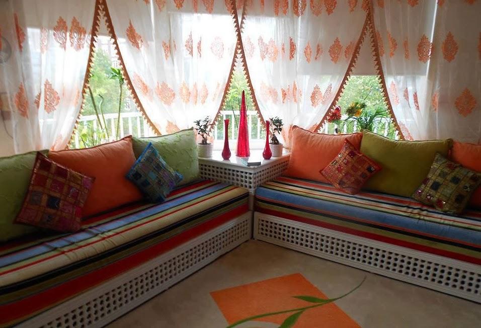 Salons Du Maroc Et D Coration Orientale D Coration Pour Salon Marocain Moderne