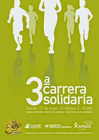 3ª Carrera Solidaria Caja Rural, en Toledo