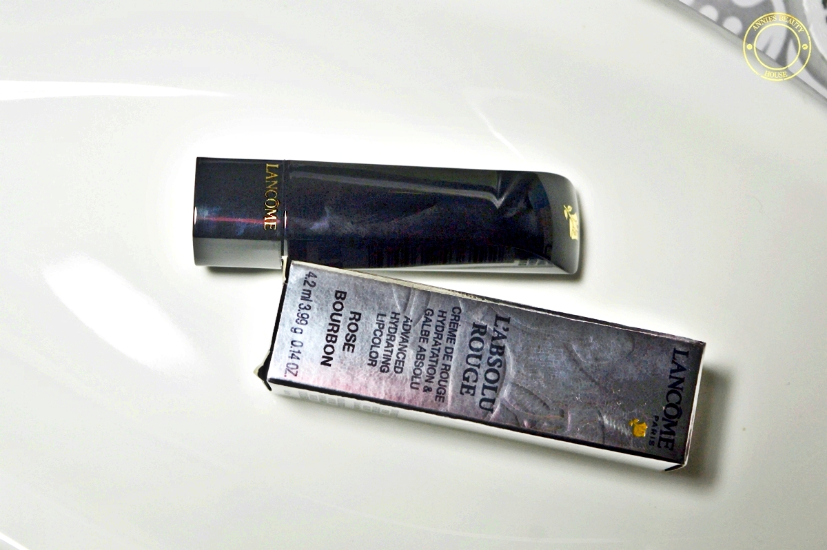LANCÔME L'Absolu Rouge Rose Bourbon 257 - Lipstick and outer packing