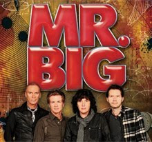 Mr Big en Madrid y Barcelona en mayo