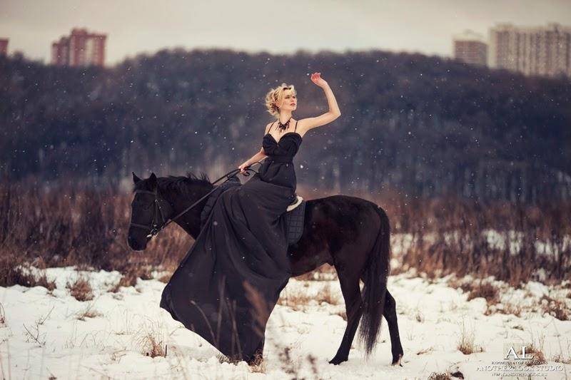 фотограф лошади
