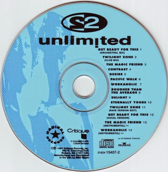 Retro disco hi nrg 2 unlimited 39 get ready 39 album for Classic house cd