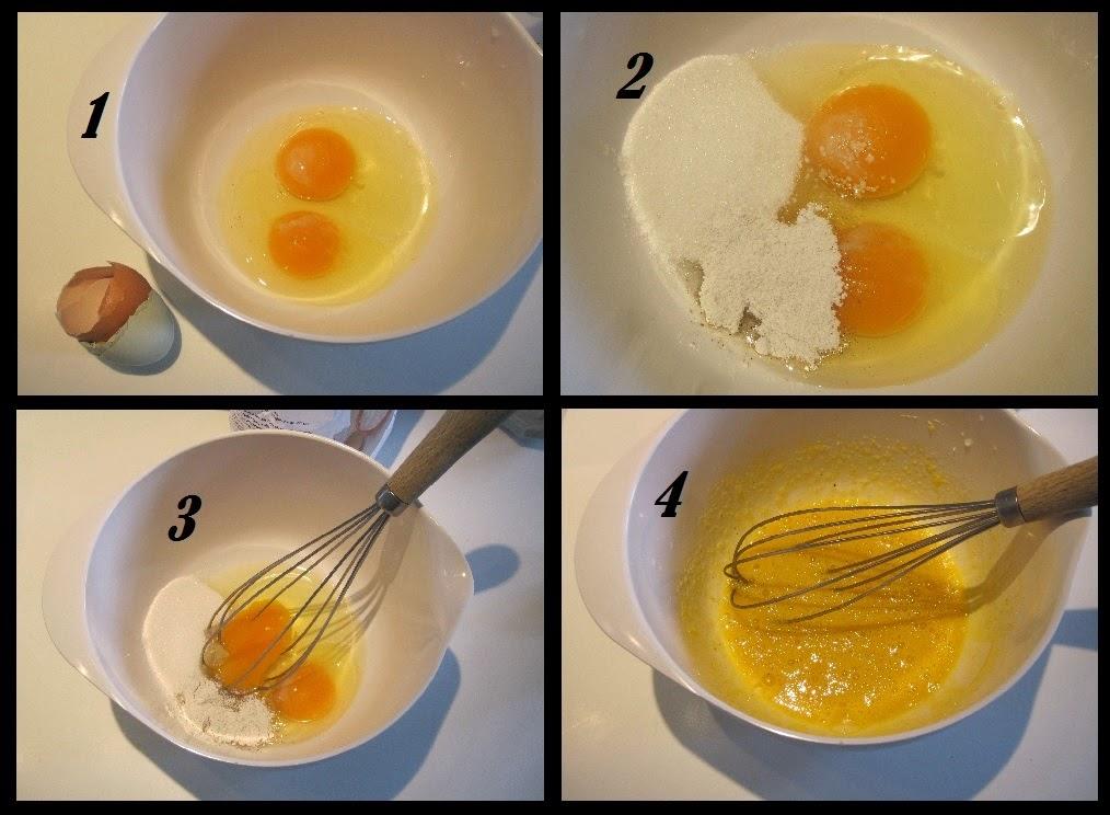 pandekager, opskrift, piskes, æg sukker, vanille, salt,