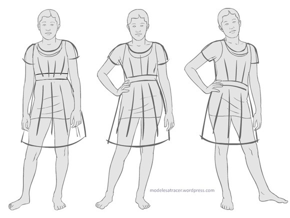 Thread fashion and costume realistic fashion templates they provide free to download dress silhouettes with real and diverse proportions for fashion design maxwellsz