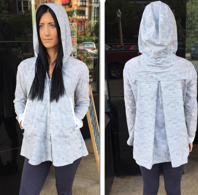 lululemon sun showers jacket