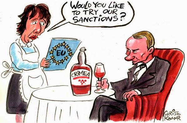 L'Unione europea ha esteso le sanzioni contro coloro che sono coinvolti nella aggressione russa