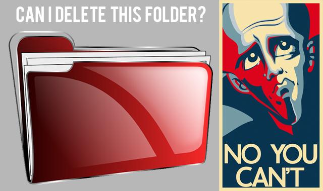 Cara Membuat Folder yang Tidak Bisa Dihapus pada Windows
