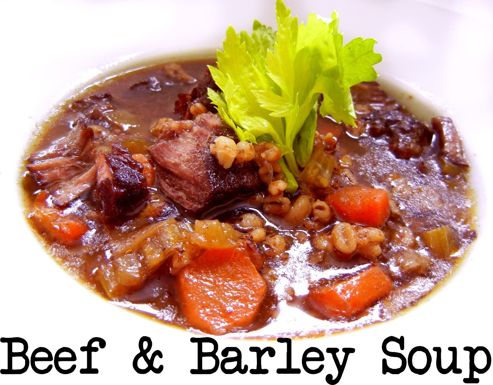 Beef Barley Soup Recipe — Dishmaps