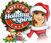 เกมส์ Amelie's Cafe Holiday Spirit