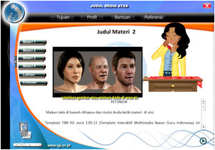 Download template MPI (Multimedia Pembelajaran Interaktif) paling keren