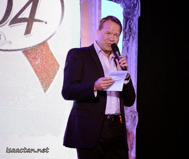 Managing Director of Carlsberg Malaysia, Henrik Juel Andersen