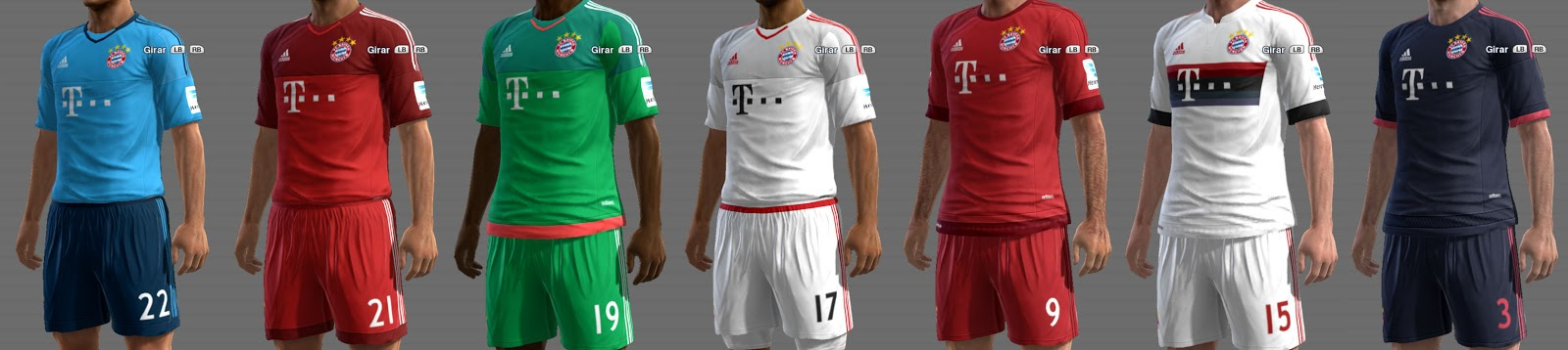 PES 2013 Bayern Munich GDB 15-16 UPDATE by ABIEL