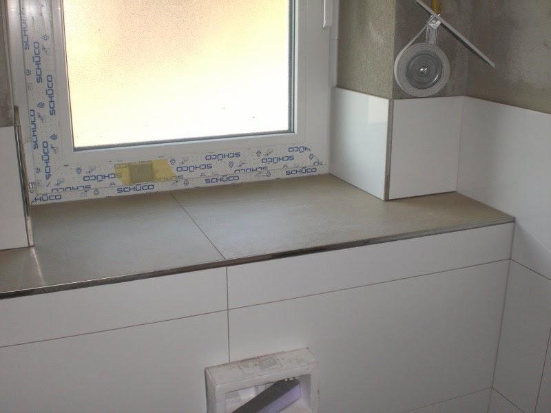 Ein massivhaus entsteht das g ste wc ist verfliest - Gaste wc fliesen oder streichen ...