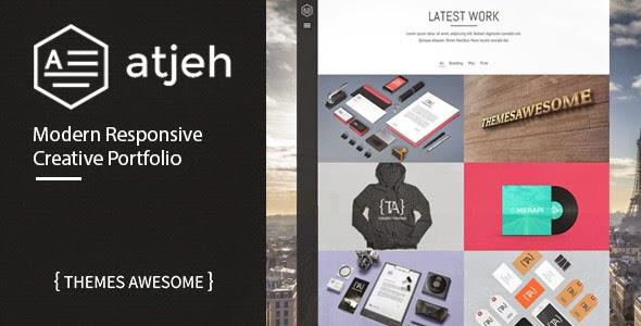 Atjeh - Responsive Creative Portfolio WordPress Theme