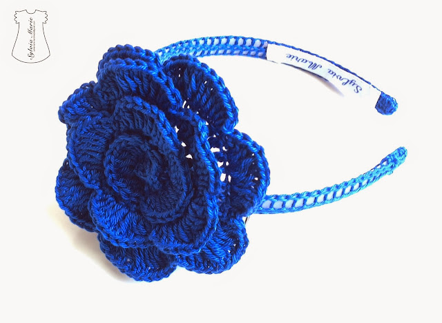 diademas hechas en crochet, haarreifen gehäklen