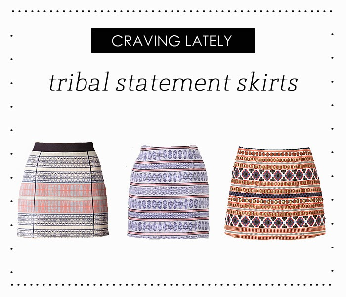 Adri lately craving tribal skirts