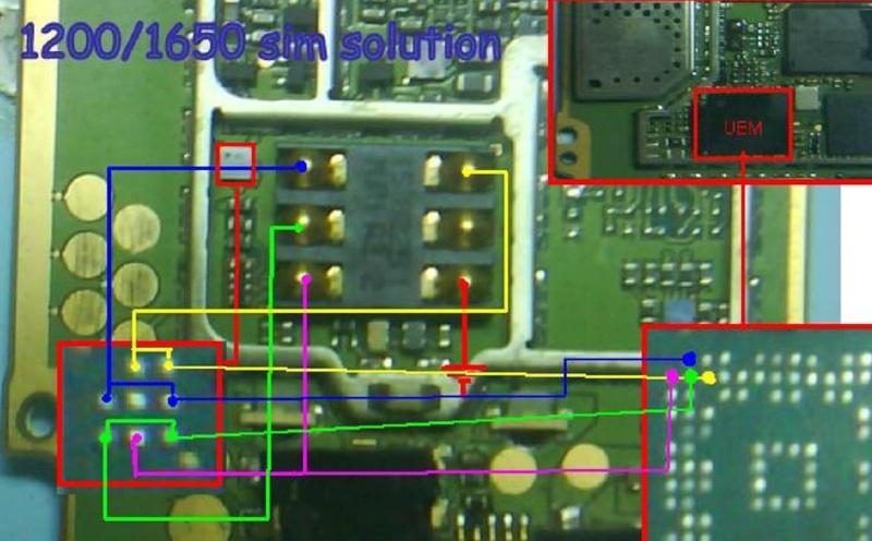 Flasher Ponsel: Trik Jumper nokia 1200 tested