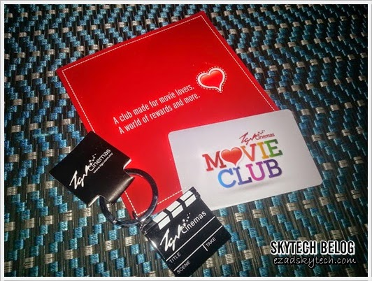 TGV Cinemas Movie Club Key Chain
