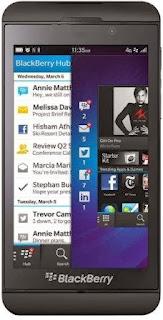 Harga dan Spesifikasi BlackBerry Z10