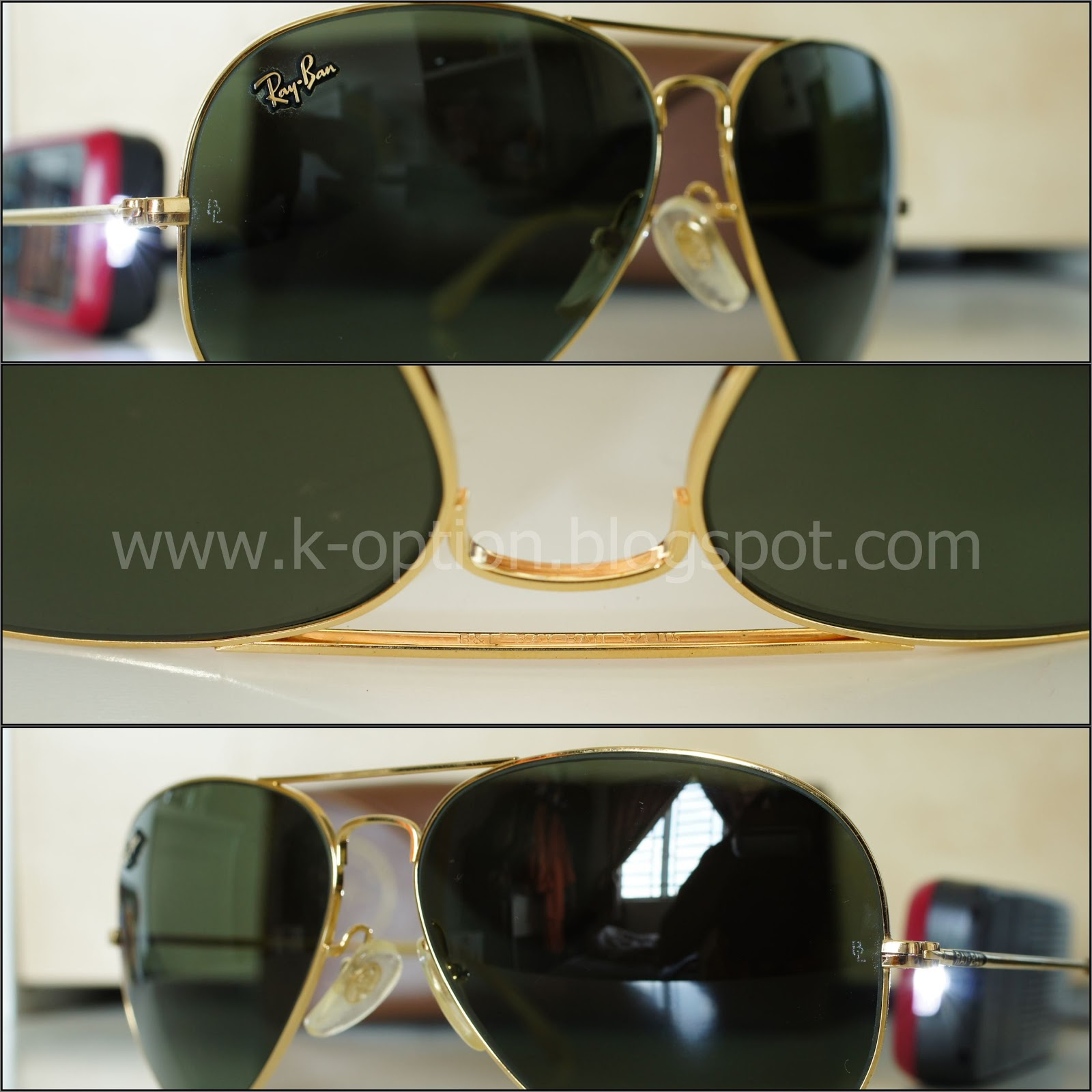 ray ban usa online nalv  Item : Rayban Masterpiece 62 lens G-15 Gold BL USA Original