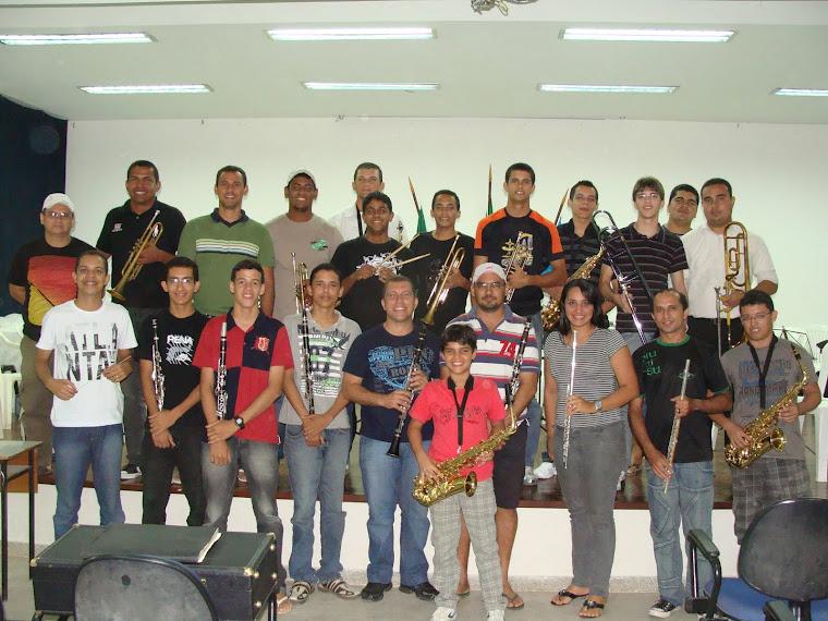 ACM inicia a formação de sua 1ª banda de música