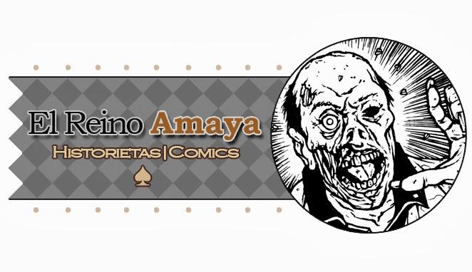 El Reino Amaya  - Historietas
