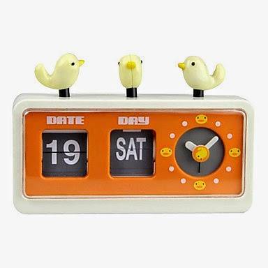 Reloj Despertador Pajaritos
